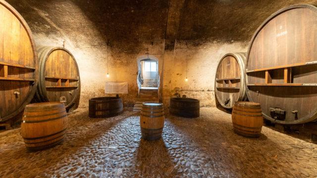 Cave Château de Vullierens3 1 640x360 - Dégustation des vins du domaine possible dans les caves historiques du Château!