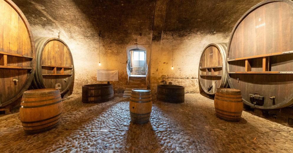 Cave Château de Vullierens3 1 994x520 - Dégustation des vins du domaine possible dans les caves historiques du Château!