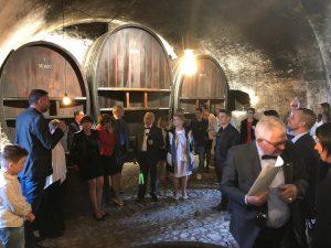 photo 2018 10 23 12 45 40 300x225 - Dégustation des vins du domaine possible dans les caves historiques du Château!