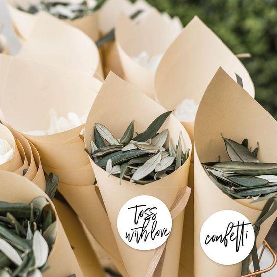 confetti - Un mariage éco-responsable ? Quelles sont les bonnes pratiques ?
