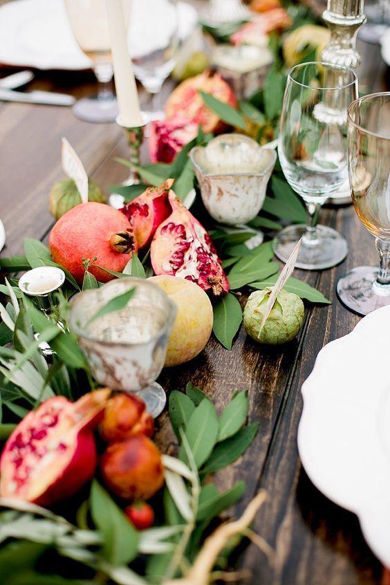deco fruits - Un mariage éco-responsable ? Quelles sont les bonnes pratiques ?