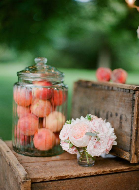 deco fruits4 - Un mariage éco-responsable ? Quelles sont les bonnes pratiques ?