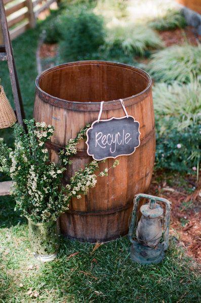 tonneau - Un mariage éco-responsable ? Quelles sont les bonnes pratiques ?