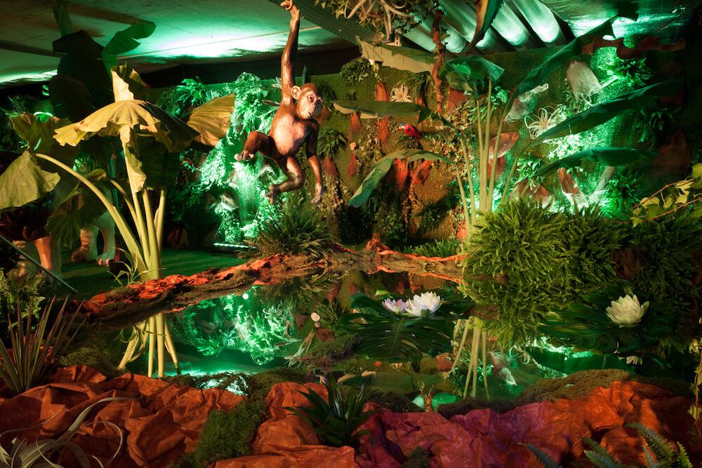 portes des iris5 thematique safari - Une atmosphère animale pour une soirée jungle époustouflante