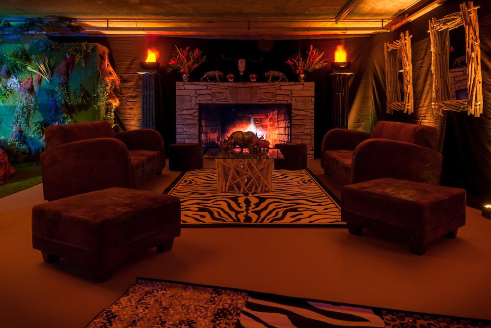 portes des iris7 thematique safari - Une atmosphère animale pour une soirée jungle époustouflante