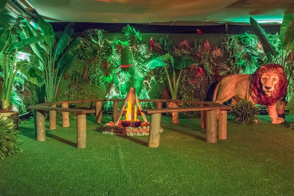 portes des iris8 thematique safari - Une atmosphère animale pour une soirée jungle époustouflante