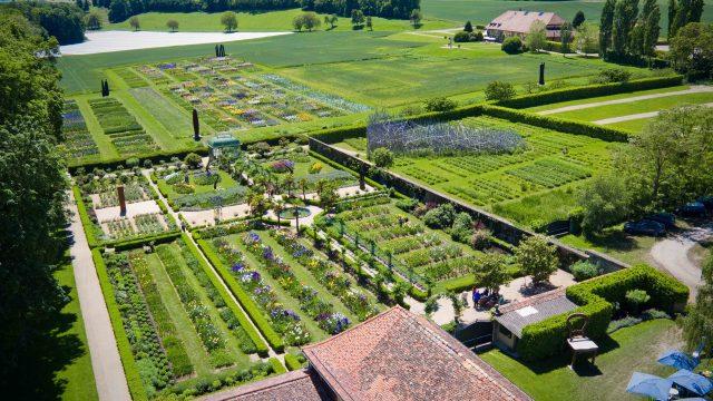 Jardins du Château de Vullierens, les plus spectaculaires de Suisse