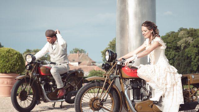 """Déco Moto Web 31 640x360 - Le mariage """"Belle Epoque"""" de A&C aux Portes des Iris"""