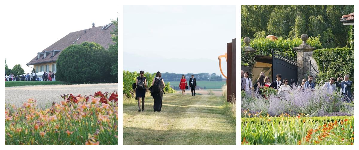 Jardins Casagrande - Garden Party in the heart of the most spectacular gardens in Switzerland