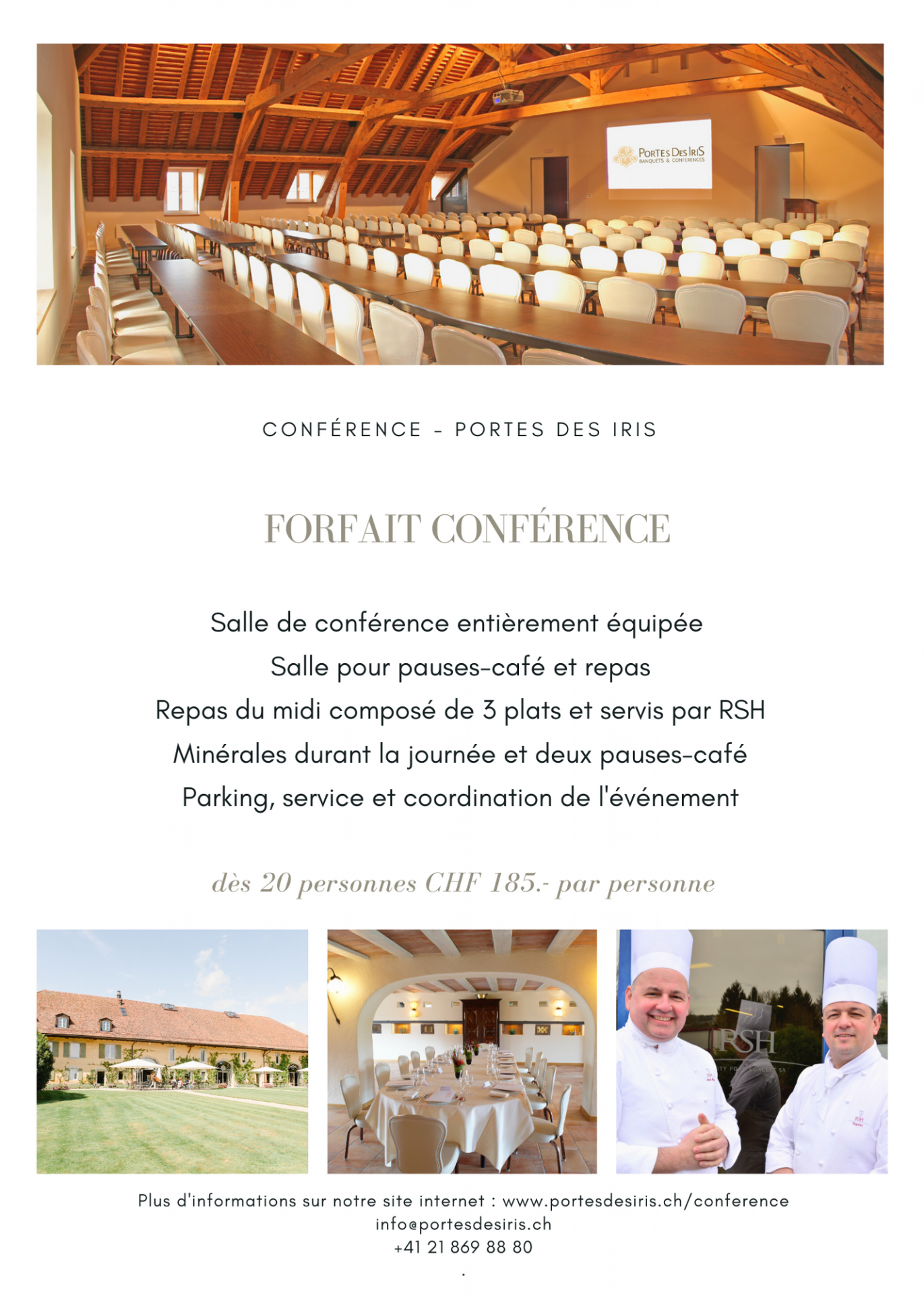 Conference package 1 - Conférences