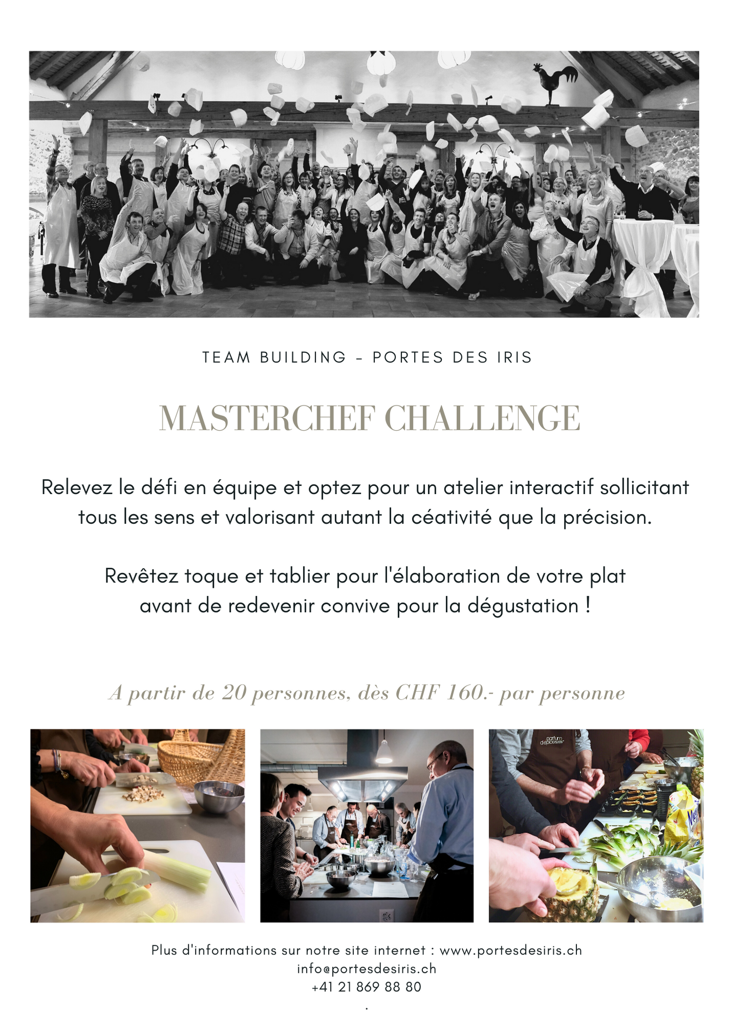 Masterchef 1 - Team building