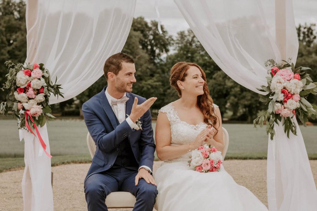 portes des iris ceremonie laique 13 1024x683 - Le mariage de Vincent & Laetitia aux Portes des Iris