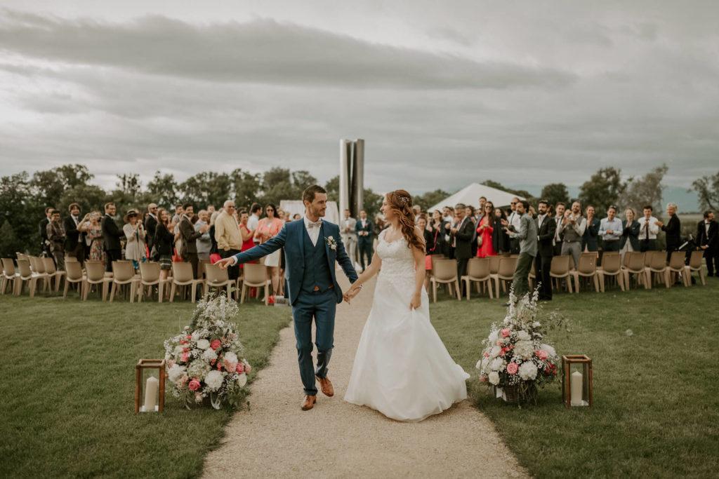 portes des iris ceremonie laique 19 1024x683 - Le mariage de Vincent & Laetitia aux Portes des Iris