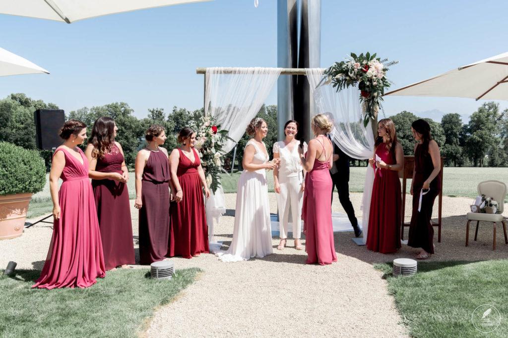 JS 29.06.19 Duofilms084 1024x683 - Le mariage de Sabrina & Juliana aux Portes des Iris