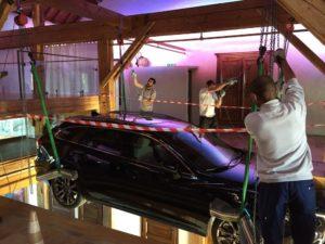 portes des iris voiture08 300x225 - Portes des Iris - un lieu événementiel incontournable pour les marques automobiles