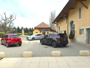 portes des iris voiture2 300x225 - Portes des Iris - un lieu événementiel incontournable pour les marques automobiles