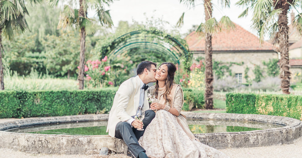 Indian wedding reception in Switzerland, wedding destination testimony