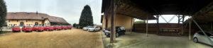 portes des iris automobile hangar 300x68 - Notre ancien hangar à foin - un atout de taille pour votre événement