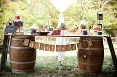 portes des iris mariage eco responsable deco tonneaux 1 - An eco-responsible wedding? What are the best practices?