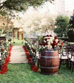 portes des iris mariage eco responsable deco tonneaux 2 - An eco-responsible wedding? What are the best practices?
